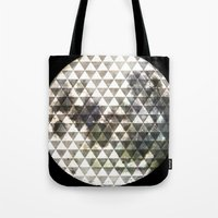 lunar Tote Bags featuring Lunar. by Tyler Rice
