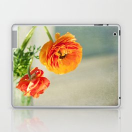 Orange you beautiful Ranculus? Laptop & iPad Skin