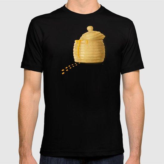 Dip Into The Honey Jar - Green Painting T-shirt