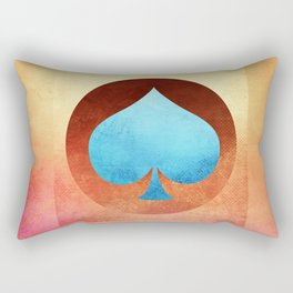 Ace of Spades III Rectangular Pillow
