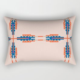 Southwest Vibe Festival Style Rectangular Pillow