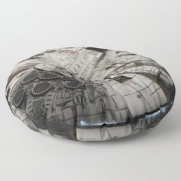 Flight of the Falcon Floor Pillow
