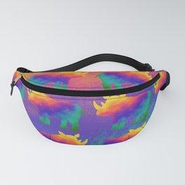 Rainbow Rhino - Stampede Fanny Pack