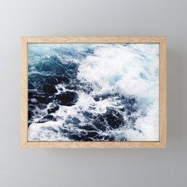 Seawater Framed Mini Art Print
