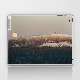 Brockenbahn at full moon Laptop & iPad Skin