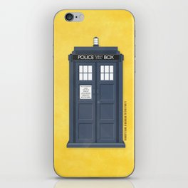 9th Doctor - DOCTOR WHO iPhone Skin