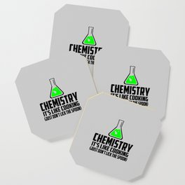 Chemistry funny quote Coaster