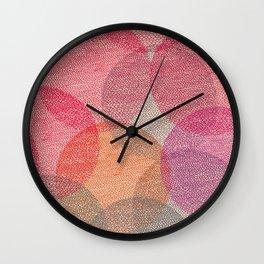 Cosy Circles 2 Wall Clock