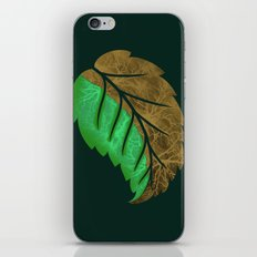Drying Leaf iPhone & iPod Skin