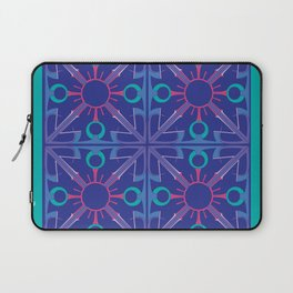Peace is Complex Tiled Laptop Sleeve