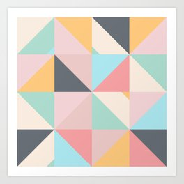 Geometric Pattern XV Art Print