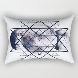 Solar Diamonds Rectangular Pillow