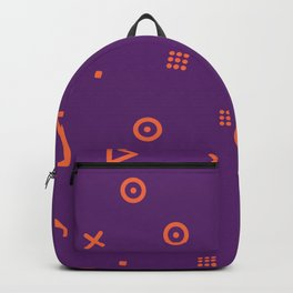 Happy Particle - Purple Backpack