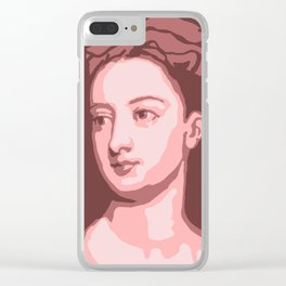 Lady Mary Wortley Montagu Clear iPhone Case