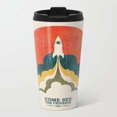 Come See The Universe Metal Travel Mug