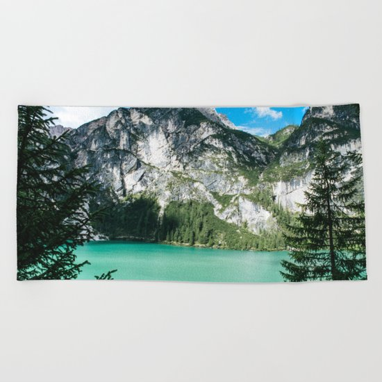 Will You Wait For Me? Beach Towel