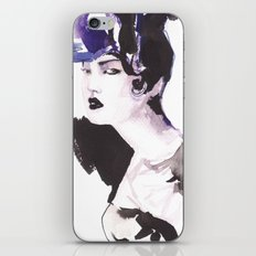 Hairstyle iPhone & iPod Skin