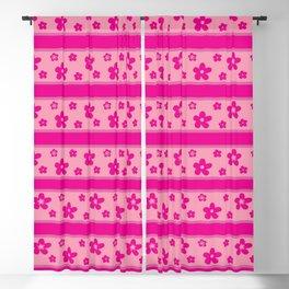 Pink Barbie Garden Blackout Curtain
