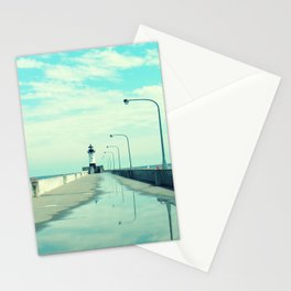 Breakwater Lighthouse Stationery Cards