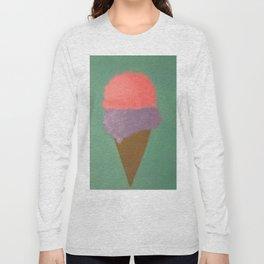 Ice Cream Snow Cone Long Sleeve T-shirt