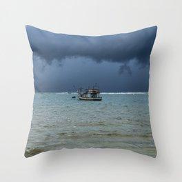 Storm 2 Throw Pillow