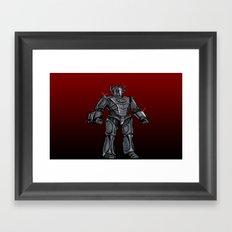 Cyberman... Framed Art Print