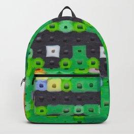 Perler bead monster Backpack