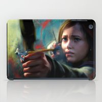 ellie goulding iPad Cases featuring The Last Of Us: Ellie by Kate Dunn