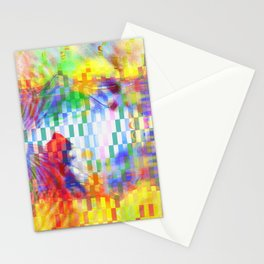 rectangles II Stationery Cards