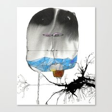 The Trouble With Flight Canvas Print