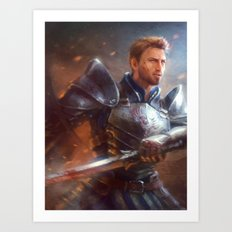 Alistair Art Print