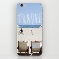 los angeles iPhone & iPod Skins featuring Los Angeles by hellomatilda