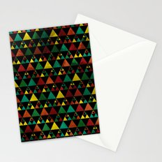 Hills & Trees at night Stationery Cards