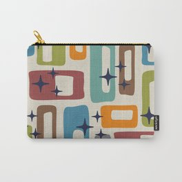 Retro Mid Century Modern Abstract Pattern 224 Carry-All Pouch