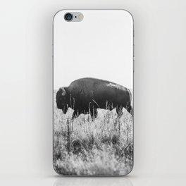 Bison strut iPhone Skin