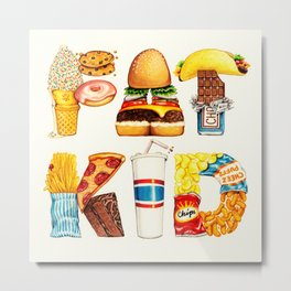 FAT KID Metal Print