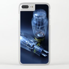 Vacuum Tubes: Black Clear iPhone Case