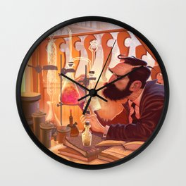 The Chemist Wall Clock