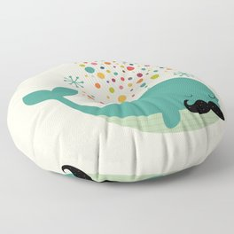 Firewhale Floor Pillow