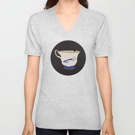 The Chipped Cup Unisex V-Neck