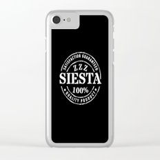 SIESTA nº 4 Clear iPhone Case