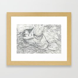 Sweet Dreams Concept Drawing Framed Art Print