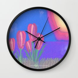 FLOWERS IN THE SUN V3 - 023 Wall Clock