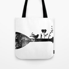 Guitar Childhood Tote Bag