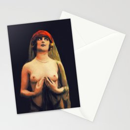 Vintage Nude by Mary Bassett Stationery Cards