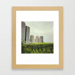 Millennium Park (Chicago, Illinois) Framed Art Print