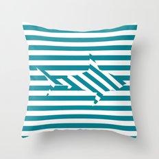 Shark 2 Throw Pillow