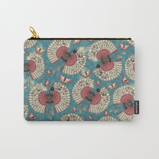 FanTastic Butterfly Fragrance Carry-All Pouch