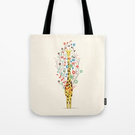 I Brought You These Flowers Tote Bag