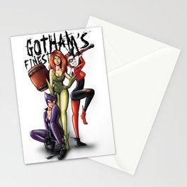 Gotham Sirens Stationery Cards